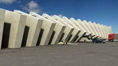 Cascadas de concreto