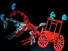 """""""The Devil's Coach and Horses"""" by Clive Hicks-Jenkins from Stravinsky's """"The Soldier's Tale"""", 2013"""