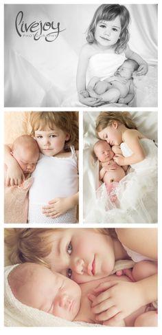 Newborn and Sibling Photography / Salem Oregon - LiveJoy Photography #newborn #livejoyphotography