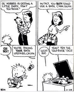 Funny Cartoons Jokes Calvin And Hobbes 70 Ideas For 2019 Calvin And Hobbes Quotes, Calvin And Hobbes Comics, Cartoon Jokes, Funny Cartoons, Funny Memes, Hilarious, Hobbes And Bacon, Fun Comics, Life Comics