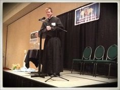 """I am posting notes from the conference on my blog. This talk was riveting. """"Keep your end in mind. Read St. John Bosco's dream of hell. Seek God's mercy NOW in confession. For at death, He will be all justice."""""""