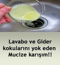 Source Although there are many methods to eliminate certain non-foul smell, which methods should be permanent instead of temporary methods. Skincare beauty # # # # health slimming cure # # püfnokta of the are Cleaning Recipes, Cleaning Hacks, Fish Recipes, Meat Recipes, Bone In Chicken Recipes, Wash Hand Basin, Clean House, Home Remedies, Sink