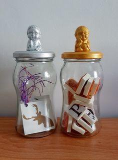 Reutilizamos frascos y les dimos una vuelta con estos Mini Buditas pintados a mano con distintos colores ! Nuestros productos están hechos con un espir...