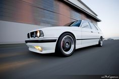 this car is disgusting (in a good way) m3 swap and 525iTouring. beautiful. the photography is fantastic too! #BMW