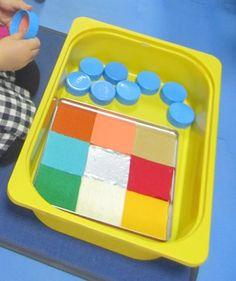 """DIY Montessori Loto tactile """"touche et apparie"""" - La classe de Marion"""