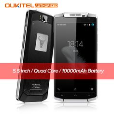 Original Oukitel K10000 5.5 inch 4G LTE Android 5.1 Smartphone 10000mAh Battery 2GB+16GB ROM 720P 13MP Outdoor Mobile Cellphone