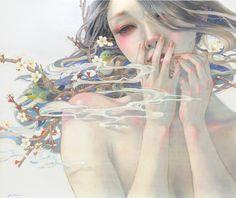 平野実穂MihoHiranoー花鳥風月The Beauties of Natureー on Strikingly by Miho Hirano #Illustration