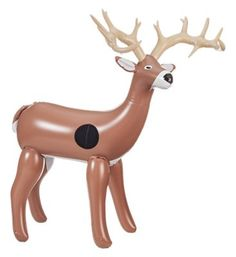 Bass Pro Shops NXT Generation 3D Inflatable Deer Target: Start kids off… #camping #hiking #outdoors #shooting #fishing #boating #hunting