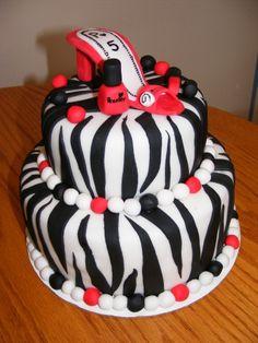 Girly birthday cake!