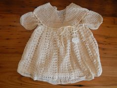 Baby Dress, Crochet Baby, High Neck Dress, Summer Dresses, Etsy, Fashion, Turtleneck Dress, Moda, Baby Boy Dress