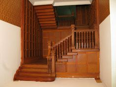 Late Victorian English Manor Dollhouse: 1/12 Miniature from Scratch: Grand…
