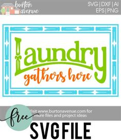 Free SVG files for Cricut & Silhouette Silhouette Cameo Vinyl, Silhouette Machine, Free Svg Cut Files, Svg Files For Cricut, Silhouette Portrait, Svg Cuts, Filing, Cutting Files, Wash Room