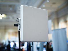 The 3D sensor uses radio waves to see through walls and smoke.