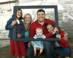 family photo within a frame