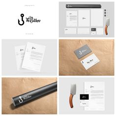 Branding design for The Butchers - Film Producer Company (Lizbon 2017) more on www.behance.net/... #branding #butcher #identity #businesscard #design #logo #thebutchers #hook #digital #film