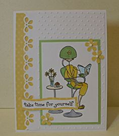 CAS237 - Take time for yourself! - Stamps: Stamping Bella (2013)