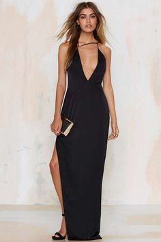 Nasty Gal Ivanna Asymmetrical Dress | Shop Clothes at Nasty Gal!