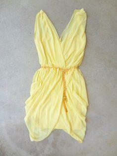 Sunny Skies Party Dress
