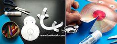krokotak | 3D Winter COLLAGES + Printable Templates