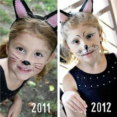 Face Painting and Makeup : How to Make a Cat's Nose ...