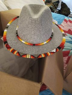 Beadwork, Hats, Fashion, Dogs, Moda, Hat, Fashion Styles, Pearl Embroidery, Fashion Illustrations