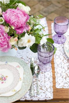 Dishie Rentals - love this place setting