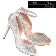 Camille La Vie Party Peep Toe Sandals for weddings, prom, homecoming and more