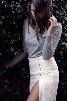 sarah donaldson | maxi skirt #slit