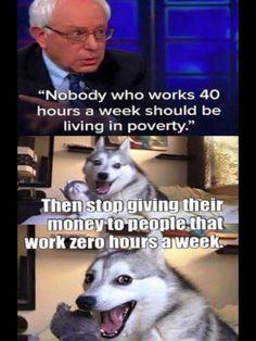 anti bernie sanders memes | Hilarious, Genius Meme DESTROYS Bernie Sanders' Most Popular Talking ...