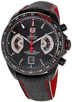 TAG Heuer Men's CAV518B.FC6237 Grand Carrera Automatic Chronograph Watch