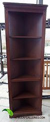 Stained Corner Cabinet