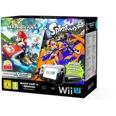 Pack Nintendo Premium Console Wii U + Mario Kart 8 + Code Splatoon - Console de jeux - Achat & prix Nintendo 3ds, Nintendo Wii U Console, Nintendo Consoles, Cheap Video Games, New Video Games, Video Game Console, Super Smash Bros, Super Mario Bros, Tecnologia