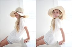 i love bright, airy pieces to wear in photo shoots.  boho style for little girls by peek kids | The Blue Closet what to wear in family pictures