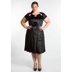 a6be7bc5b60 Chloe Crushed Velvet Dress · Plus Size Formal DressesPlus ...