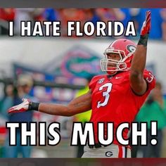 Georgia's Todd Gurley does a version of the Gator chomp in front of Florida fans after scoring a touchdown vs. - whew boy I am definitely a Gurley Girl! College Football Season, Football Memes, Football Stuff, Georgia Bulldogs Football, Todd Gurley, Athens Georgia, Georgia Girls, Hedges, Falcons
