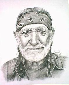 Songs by willie-nelson Country Singers, Country Music, Name That Tune, Willie Nelson, Pencil Art, Rock And Roll, Famous People, Art Drawings, Abstract Art
