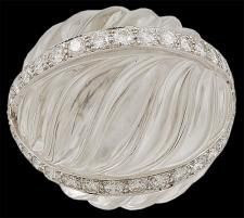 DAVID WEBB Diamond Crystal Dome Ring♥