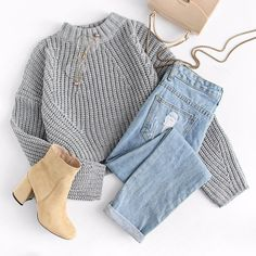 Pullover Liebe - Ropa Tutorial and Ideas Teen Fashion Outfits, Teenage Outfits, Mode Outfits, Cute Fashion, Girl Outfits, Summer Outfits, Fashion Fall, Fashion Clothes, Fashion Ideas