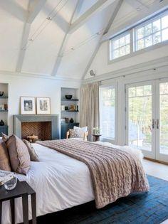 Beach Style Bedroom masterbedroom #makesmewanttogoonvacation