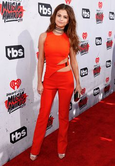 Selena Gomez attends the iHeartRadio Music Awards, April 3rd