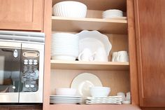 Great site that shows you how to organize a kitchen.