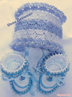 "Мои вязалочки для новорожденных ""For Boys&Girls"" Baby Patterns, Crochet Patterns, Bolero, Crochet Baby Booties, Baby Love, Crochet Projects, Boy Or Girl, Diy And Crafts, Kids Outfits"