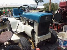 Patio Blue 110 Or 120 Tractor.THis Is 1 Of 4 That JOhn Deere Offered