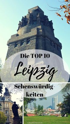 Leipzig short trip - The Top 10 Leipzig sights in a practical route - Beste Reisetipps 2019 Packing List For Vacation, Vacations To Go, Holidays Germany, Sites Touristiques, Short Trip, Holidays And Events, Trip Planning, In The Heights, Travel Destinations