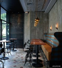 Matto Pizzeria and Bar in Shanghai by Pure Creative International