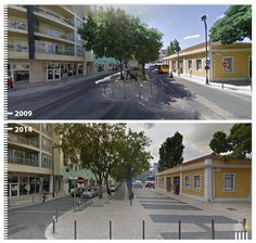 PORTUGAL-Galeria Antes | Depois – transformações do espaço público./Before | After Gallery - public space transformations.