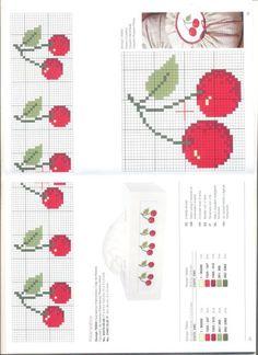 Cross stitch pattern: Cherry