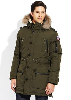 2013 Canada Goose' langford parka brown sale