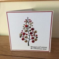 Christmas card stamped