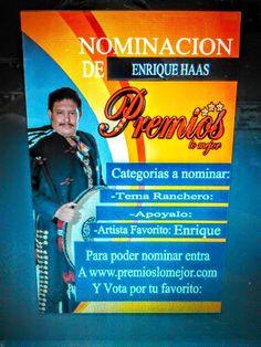 ENRIQUE HAAS Poster Promoción PREMIOS LO MEJOR TOURS ACAPULCO 2015 - Google Fotos